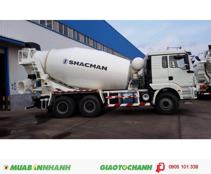 Bán xe bồn trộn bê tông 10m3 SHACMAN SX 2017 2