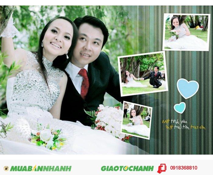 Chụp ảnh cưới giá rẻ tính buổi