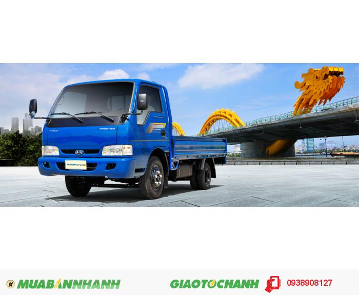 Thaco kia 2,4 tấn, sản phẩm tải nhẹ mới, bền bỉ theo thơi gian, tăng tải trọng 1