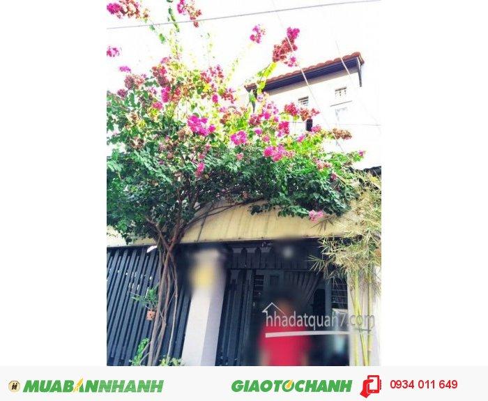 Cần bán gấp nhà 1 lầu đúc kiên cố hẽm 160 Nguyễn Văn Quỳ , Quận 7 (Hẽm 5m).
