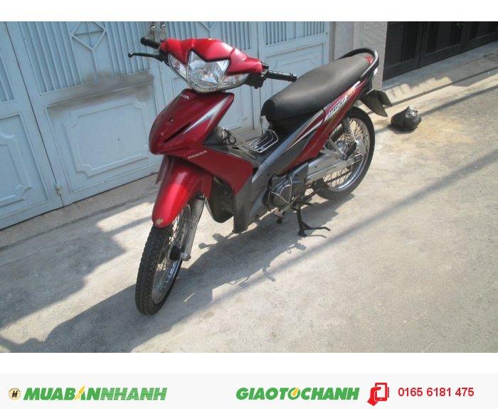 Xe Honda Wave S 110Cc ,Màu Đỏ Đen