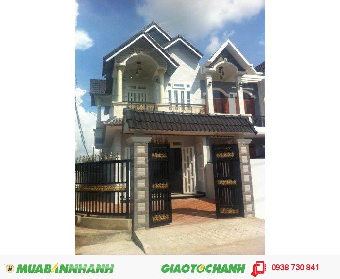 Bán Nhà Mới Xây Kiên Cố 4x12m.Phan Văn Hớn - Hóc Môn, giá 300 tr
