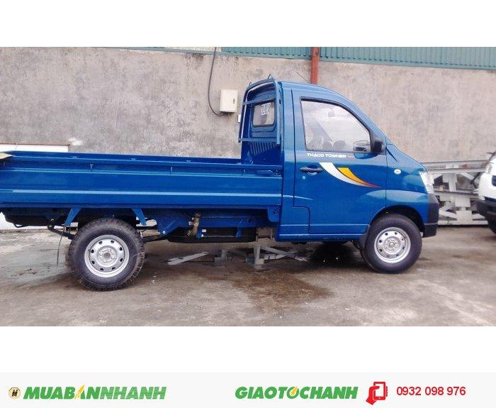 Bán xe tải Thaco Towner, tải trọng dưới 1 tấn, giảm giá khủng