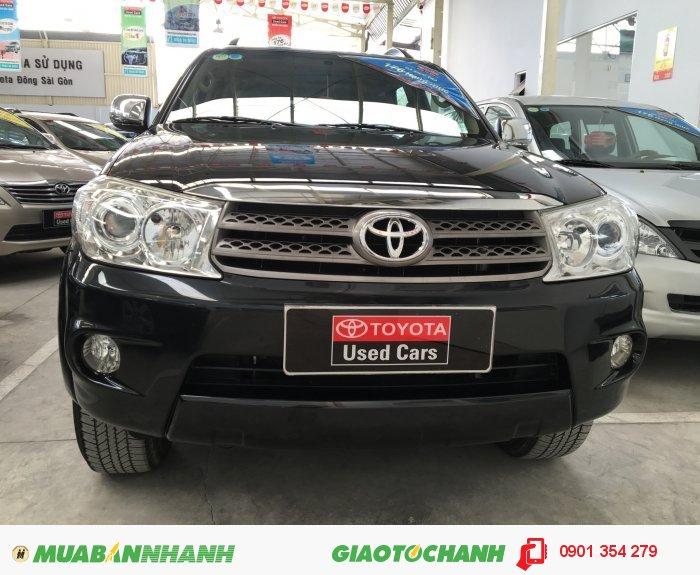 Bán xe Toyota Fortuner G, đời 2010. Xe đẹp, chất lượng đảm bảo.