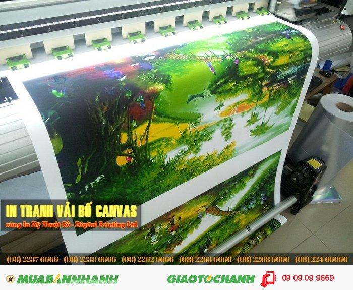 Tranh phong cảnh quê hương Việt Nam | In mực nước | Màu sắc trung thực, sắc nét | Khổ in lớn | n số lượng lớn tại In Kỹ Thuật Số, 5