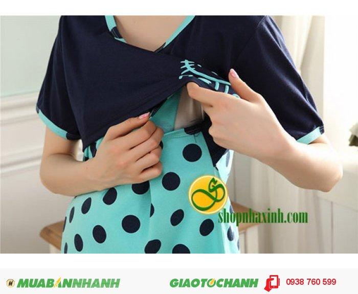 Phần ngực áo có thể mở ra để cho bé bú một cách nhanh chóng, thuận tiện cùng chun quần dễ dàng điều chỉnh theo kích thước vòng 2 đem lại sự thoải mái tối đa khi mặc.1