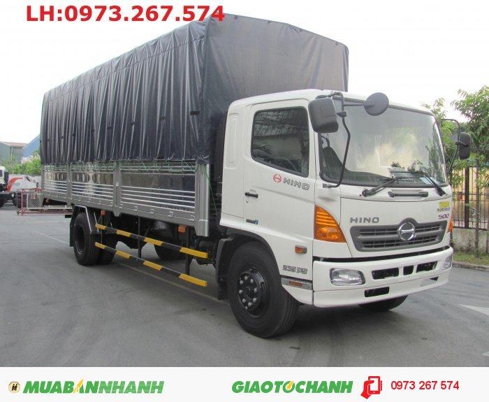 Bán xe tải Hino FG 9t4/9tan4 giao xe ngay=xe tải Hino 9t4/9,4t FG