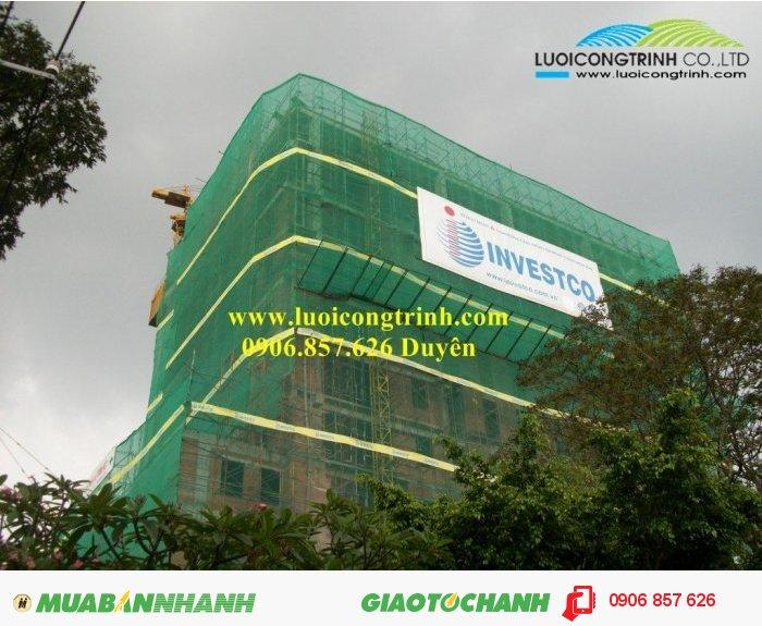 Lưới bao che công trình nhà cao tầng2