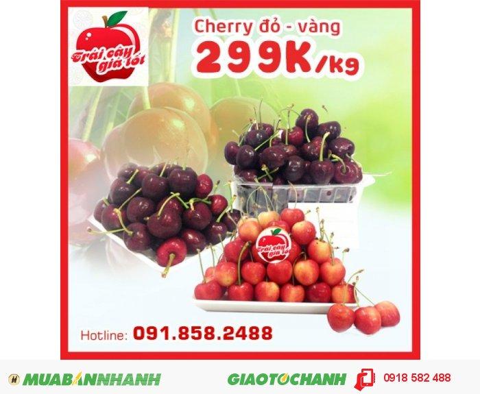 Cherry Chile 299k/kg và Mận Mỹ 149k/kg0