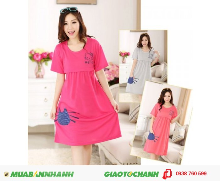 Váy Bầu Kết Hợp Cho Con Bú NX9220
