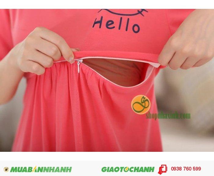 Váy Bầu Kết Hợp Cho Con Bú NX9221