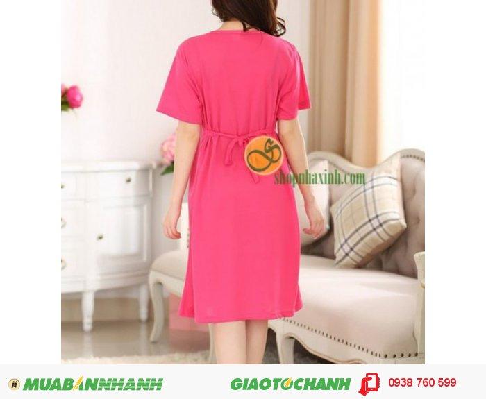 Váy Bầu Kết Hợp Cho Con Bú NX9222