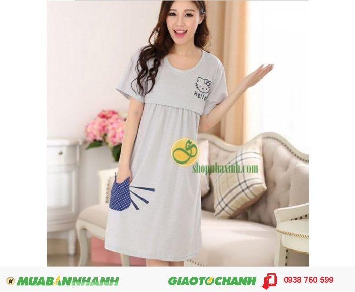 Váy Bầu Kết Hợp Cho Con Bú NX9223