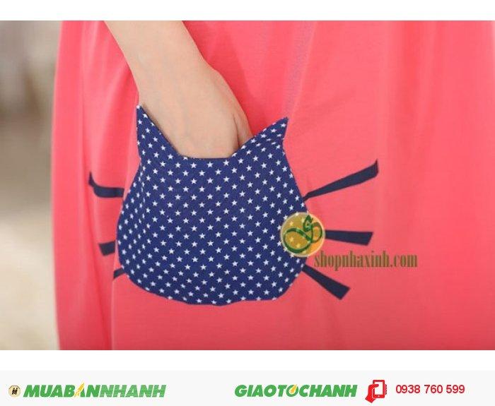 Váy Bầu Kết Hợp Cho Con Bú NX9224