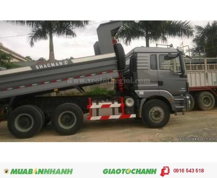 Xe ben SHACMAN 3 chân công nghệ ĐỨC,  với giá rẻ nhất và chất lượng dịch vụ tốt nhất 1