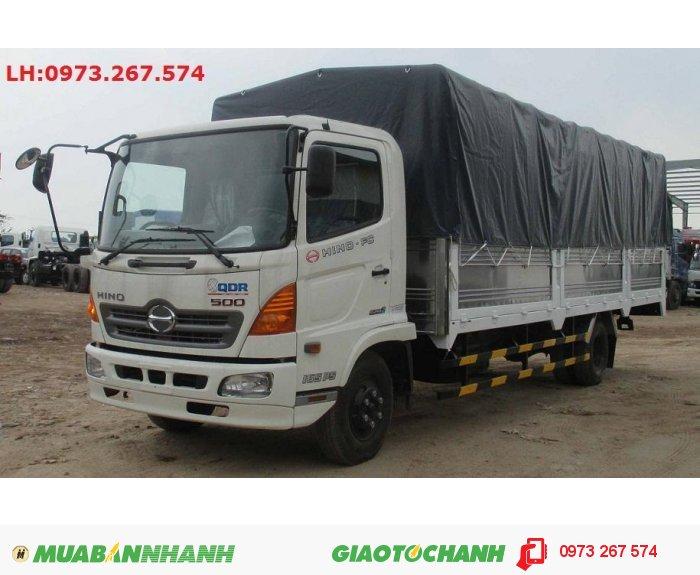 Bán xe tải Hino 6T4/ 6.4t/ giá bán xe Hino 6T4/ 6.4 tấn thùng bạt 6m6