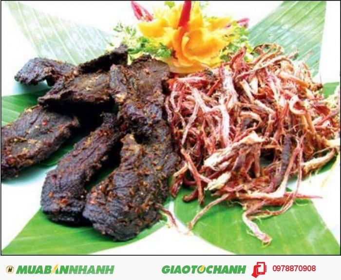 Cung cấp đặc sản thịt trâu gác bếp Tây Bắc tại Sài Gòn1
