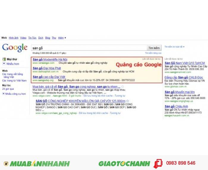 Quang Cáo Từ Khóa Google - Uy Tín - Chất Lượng