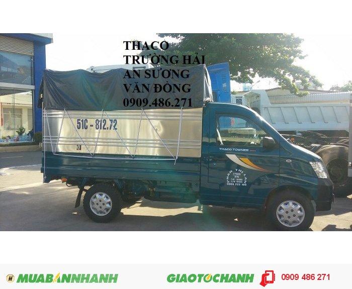 Xe tải nhẹ máy xăng suzuki towner 950A thaco an sương