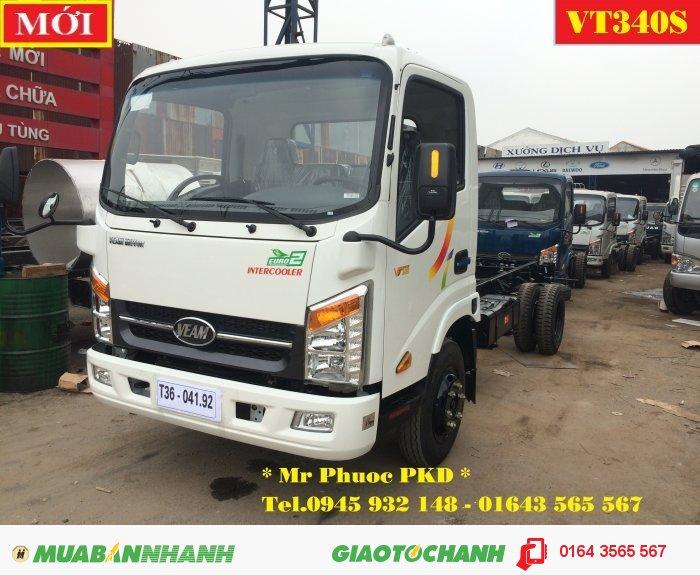 XE VEAM VT340S, VEAM VT340S 3.5 tấn thùng dài 6m2, xe tải VEAM VT340S 3.5T