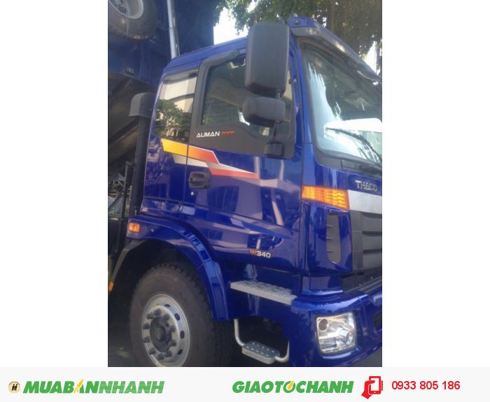 Xe ben Thaco Auman D300 tải trong 17,7