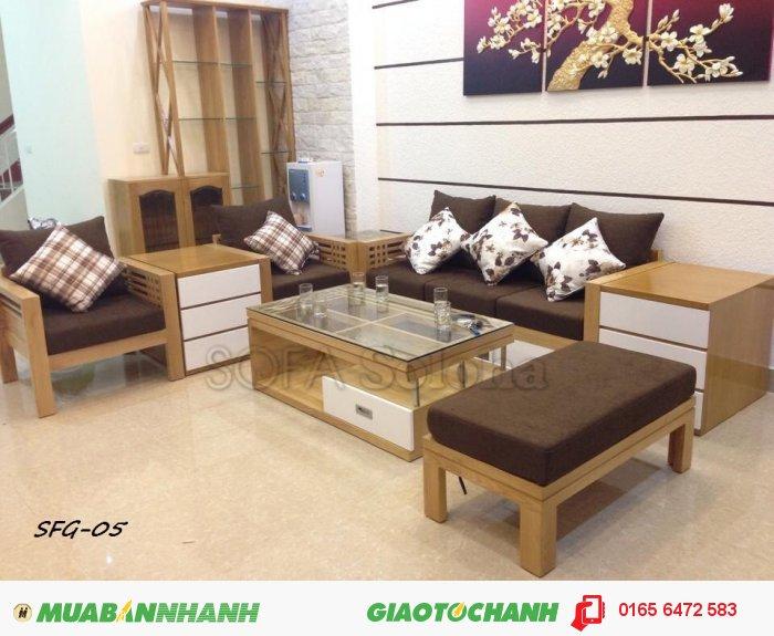 Sofa Gỗ đệm Gỗ Tự Nhien Gia Rẻ Kiểu Dang Hiện đại Mới 100 Gia