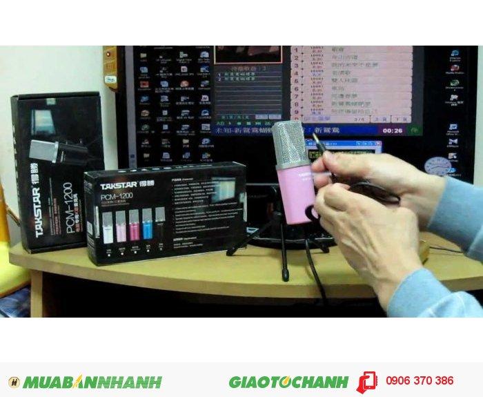 Là sản phẩm cao cấp trong dòng micro máy tính, PCM-1200 được sản xuất bằng nhựa ABS giúp chiếc mic có độ bền cao. Micro có khả năng lọc tiếng ồn, giảm tiếng gió cao với 2 lớp màng lọc tích hợp.