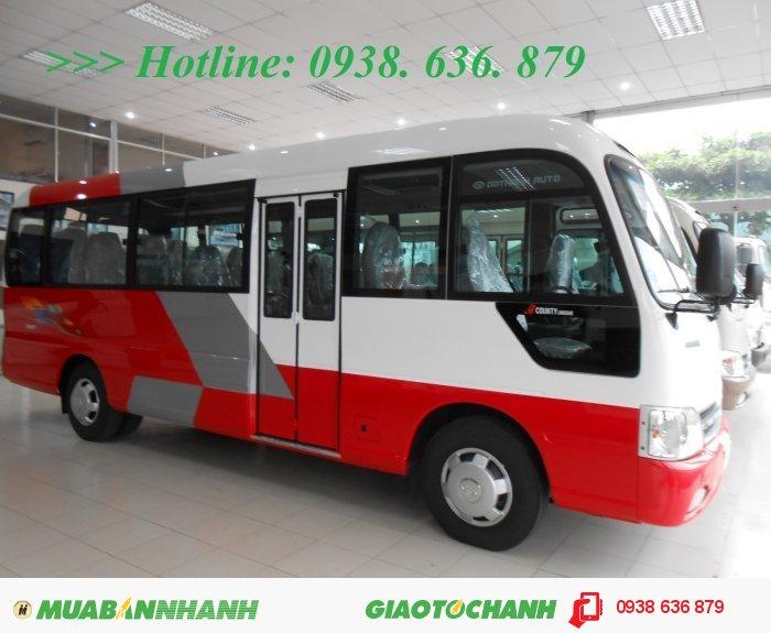 HYUNDAI COUNTY 29 chỗ nhập khẩu - Bán Giá Thanh Lý- Xe Giao Liền 0