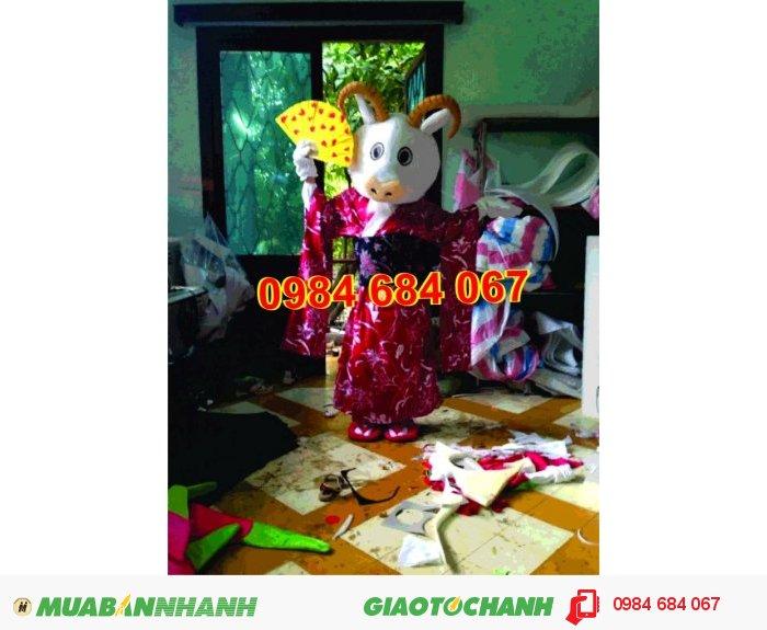 May mascot, linh vật biểu diễn giá rẻ, giao hàng nhanh, ship hàng toàn quốc0