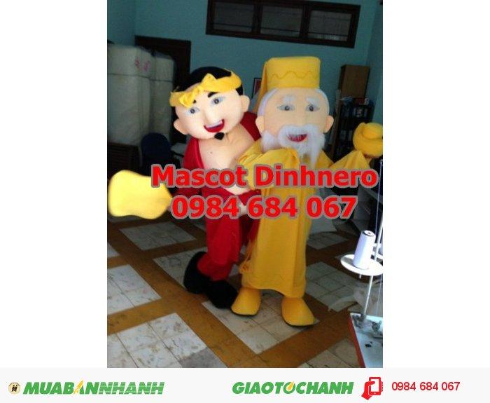 May mascot, linh vật biểu diễn giá rẻ, giao hàng nhanh, ship hàng toàn quốc1