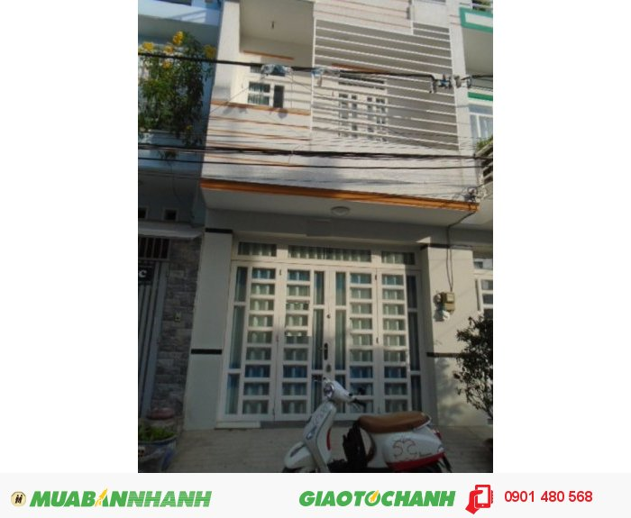 Cần tiền bán GẤP nhà Huỳnh Tấn Phát, p. Tân Thuận Đông. DT 60m2