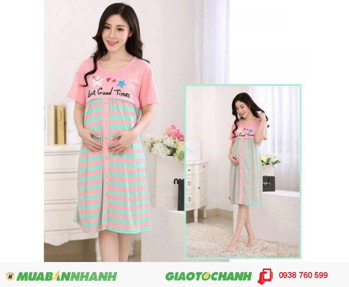 Váy Bầu Kết Hợp Cho Con Bú NX15310