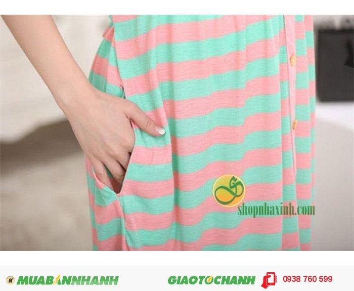 Váy Bầu Kết Hợp Cho Con Bú NX15312