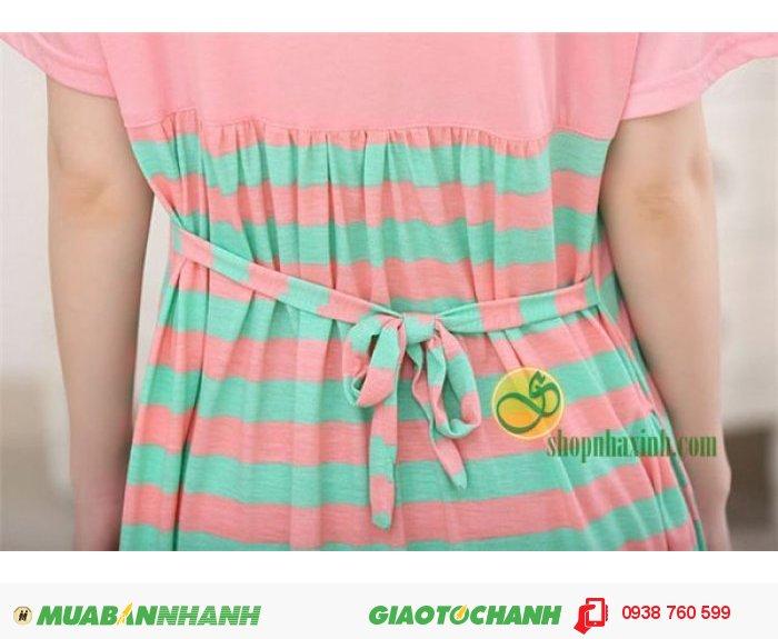 Váy Bầu Kết Hợp Cho Con Bú NX15313