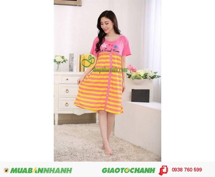 Váy Bầu Kết Hợp Cho Con Bú NX15314