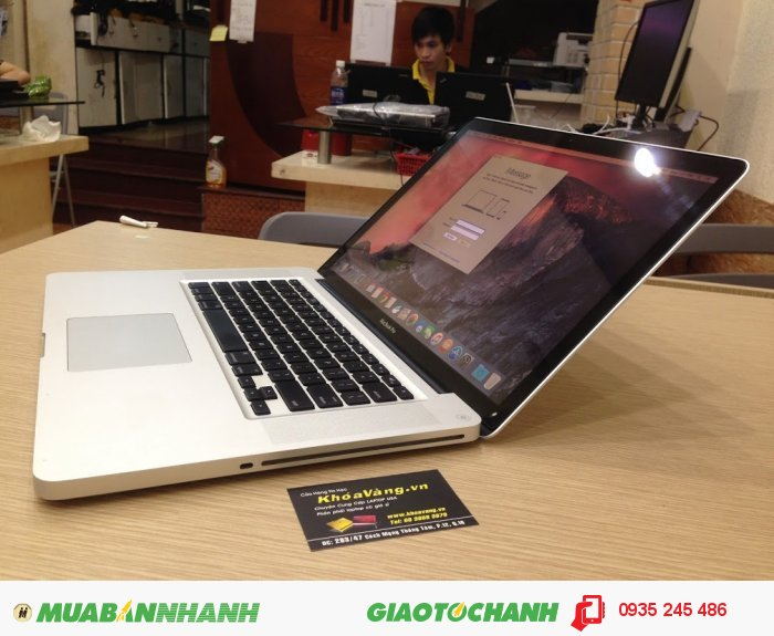 Macbook Pro 15 inch Core i7 Quad core Card rời AMD 1G MC723