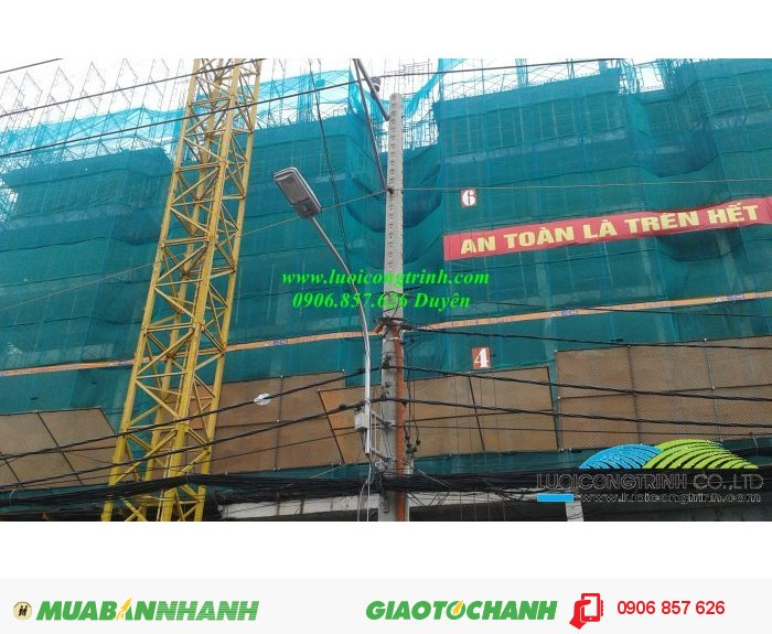 Lưới bao che công trình xây dựng2