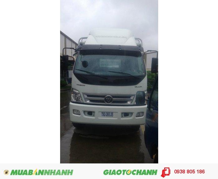 Xe tải Ollin 9 tấn Ollin900A, thùng lửng, thùng mui bạt, thùng kín 2