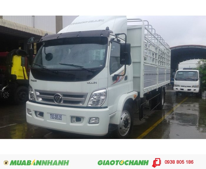 Xe tải Ollin 9 tấn Ollin900A, thùng lửng, thùng mui bạt, thùng kín 3