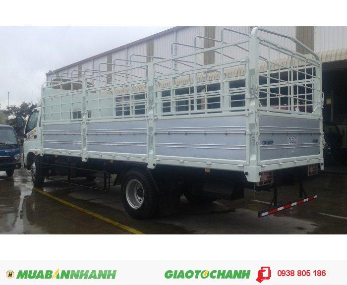 Xe tải Ollin 9 tấn Ollin900A, thùng lửng, thùng mui bạt, thùng kín 4