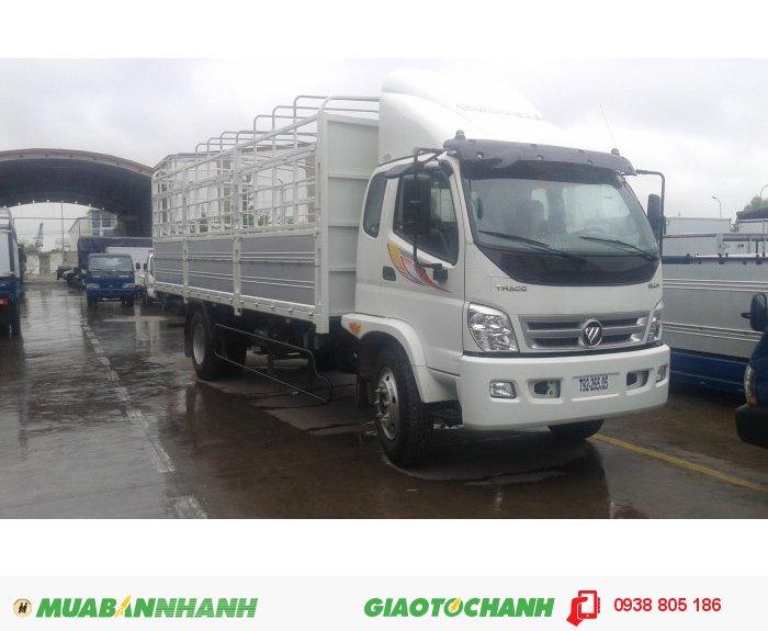 Xe tải Ollin 9,5 tấn Ollin950A thùng lửng, thùng bạt, thùng kín 2
