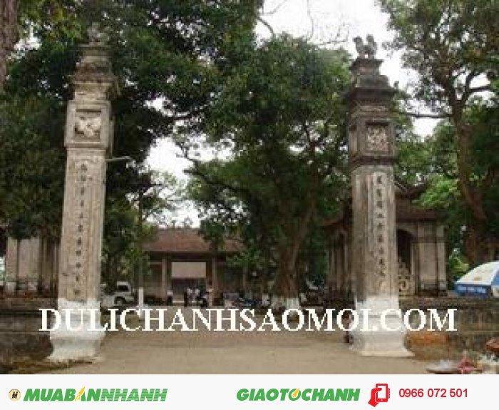 Du lịch đền Chử Đồng Tử - Bát Tràng 1 ngày xuân 2016