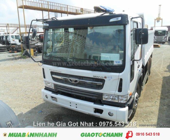 Xe tải ben Daewoo 15 tấn 340PS TaTa NoVus SE K4DEF - 2 Cầu nhập khẩu Hàn Quốc