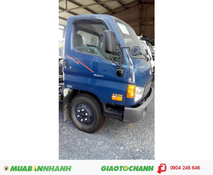 Xe Huyndai HD65, hạ tải 2T5/ 1T99/1T75