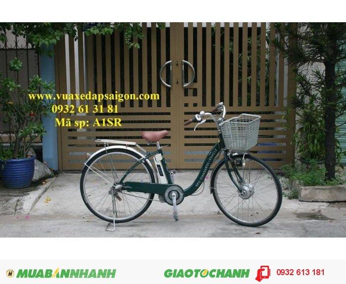 Chuyên xe đạp điện trợ lực Nhật bãi: (Luôn rẻ nhất Việt Nam) Sanyo nhôm