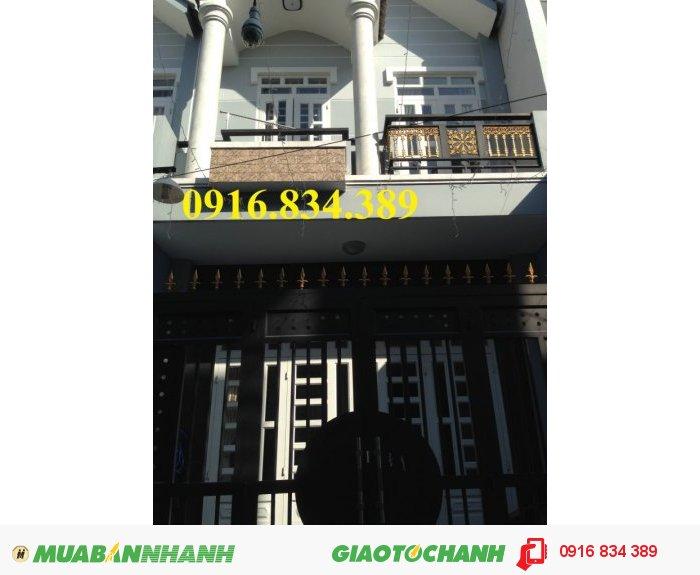 Nhà phố 1 trệt 1 lầu, 2phòng ngủ, ngay Hà Huy Giáp, Quận 12, TpHCM.