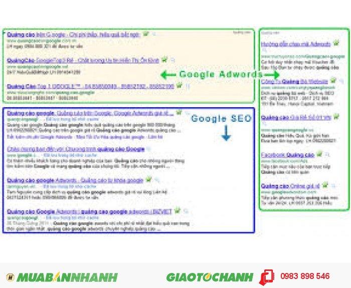 Quảng cáo từ khóa google giá rẻ - hiệu quả - chất lượng