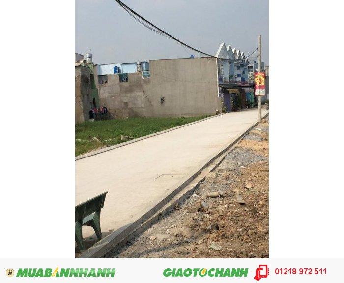 Đất nền Quận Bình Tân, thuận lợi cho việc đầu tư cũng như là để ở, chỉ từ 13tr/m2