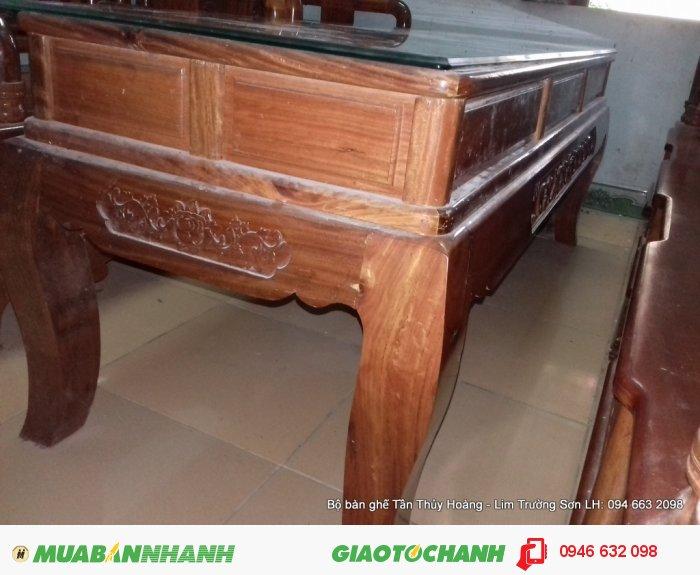Bộ bàn ghế Tần Thủy Hoàng 7 món kích thước lớn0