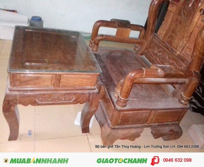 Bộ bàn ghế Tần Thủy Hoàng 7 món kích thước lớn2